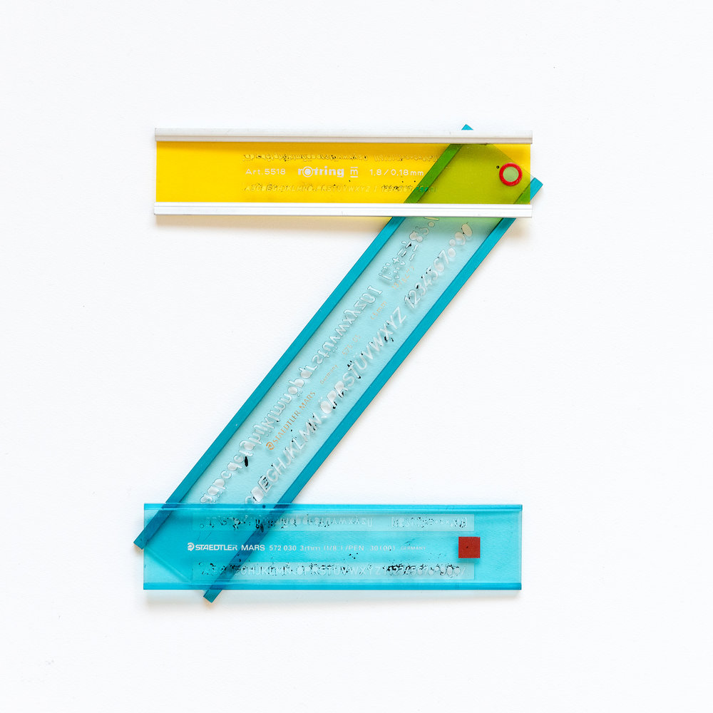 ABCDesign an Alphabet     letter z