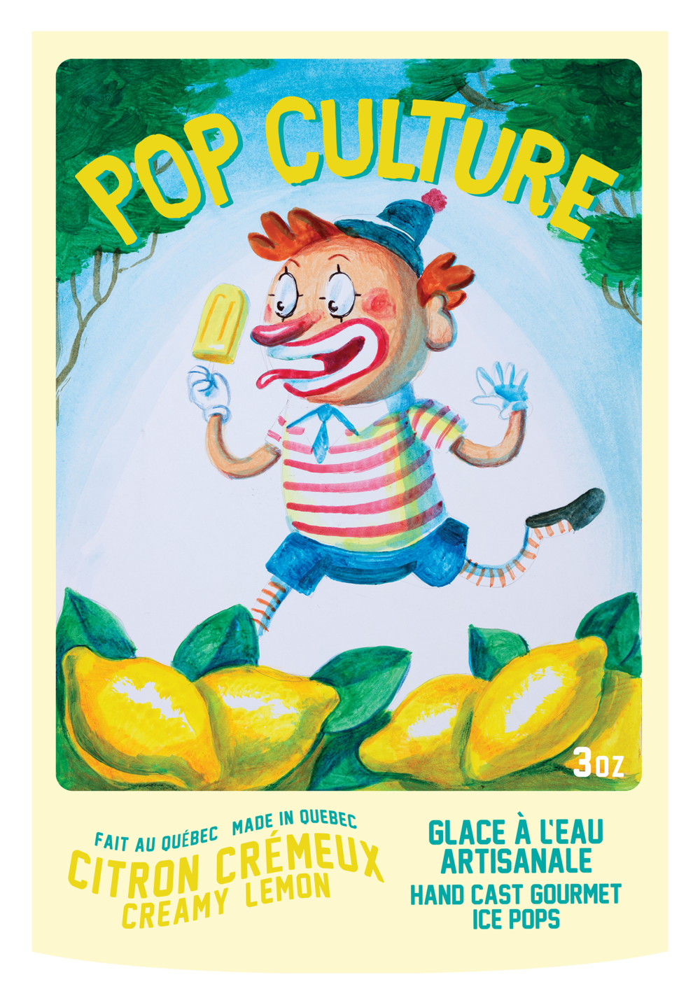 Pop Culture: Popsicle label design