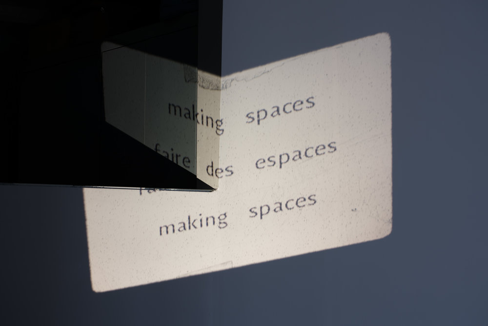 Making Spaces FOFA 2017 Exhibition Catalogue