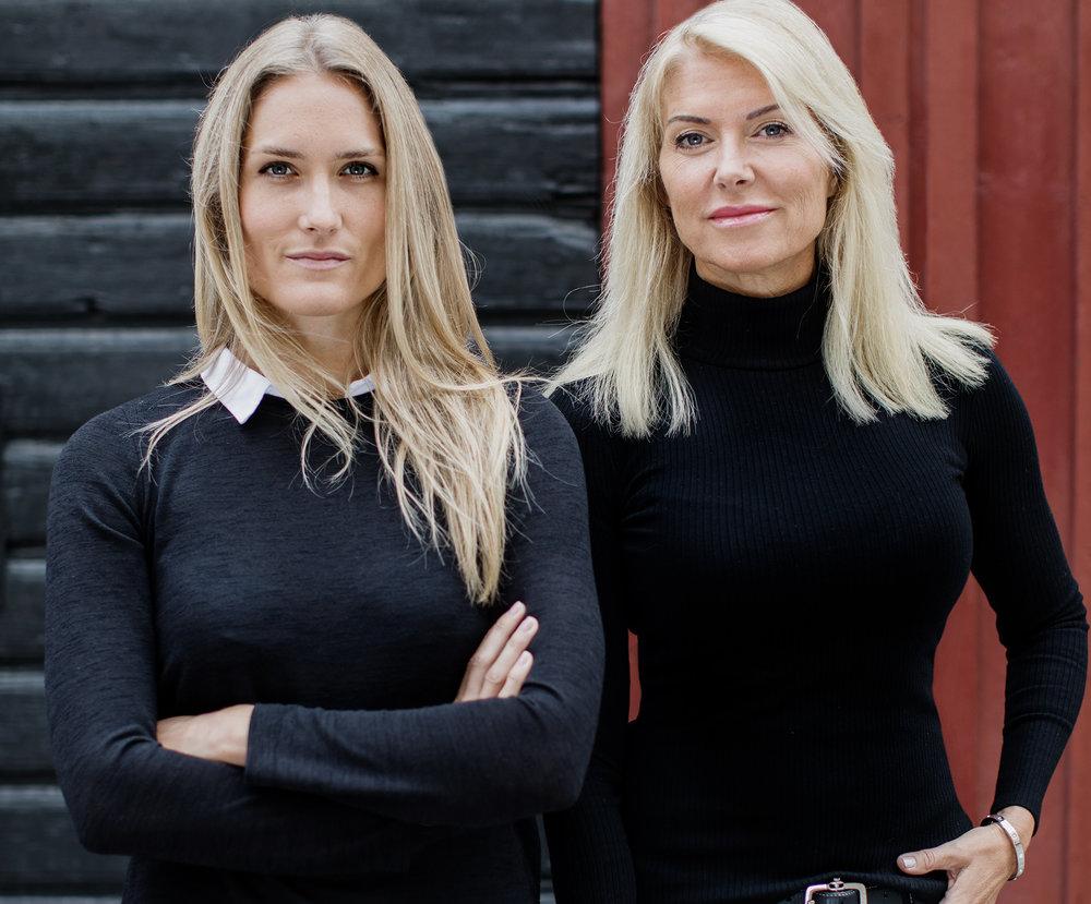 Ellinor Sirén och Camilla Sirén. Foto: Susanne Walström