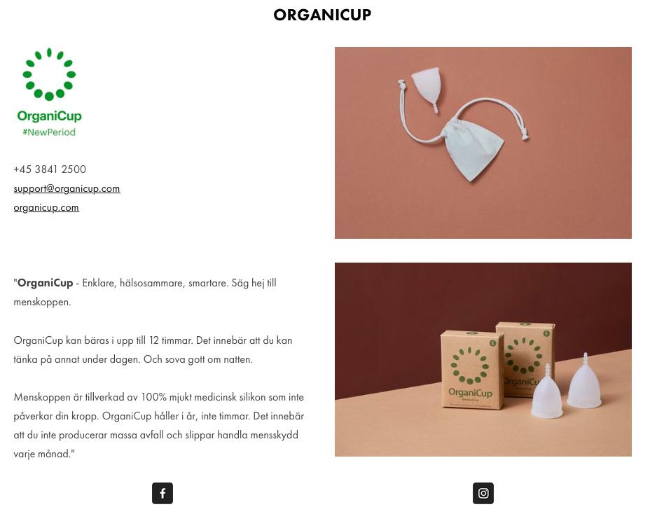 organicup ekotipset menskopp