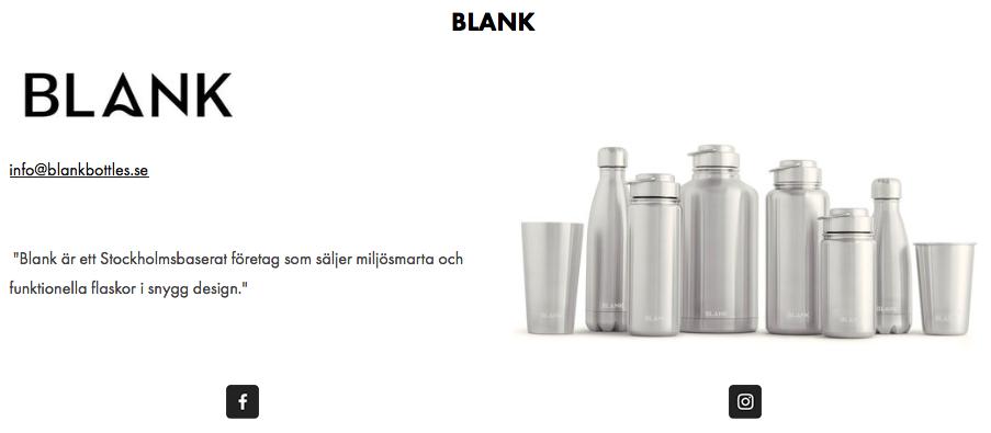 blank rostfritt stål