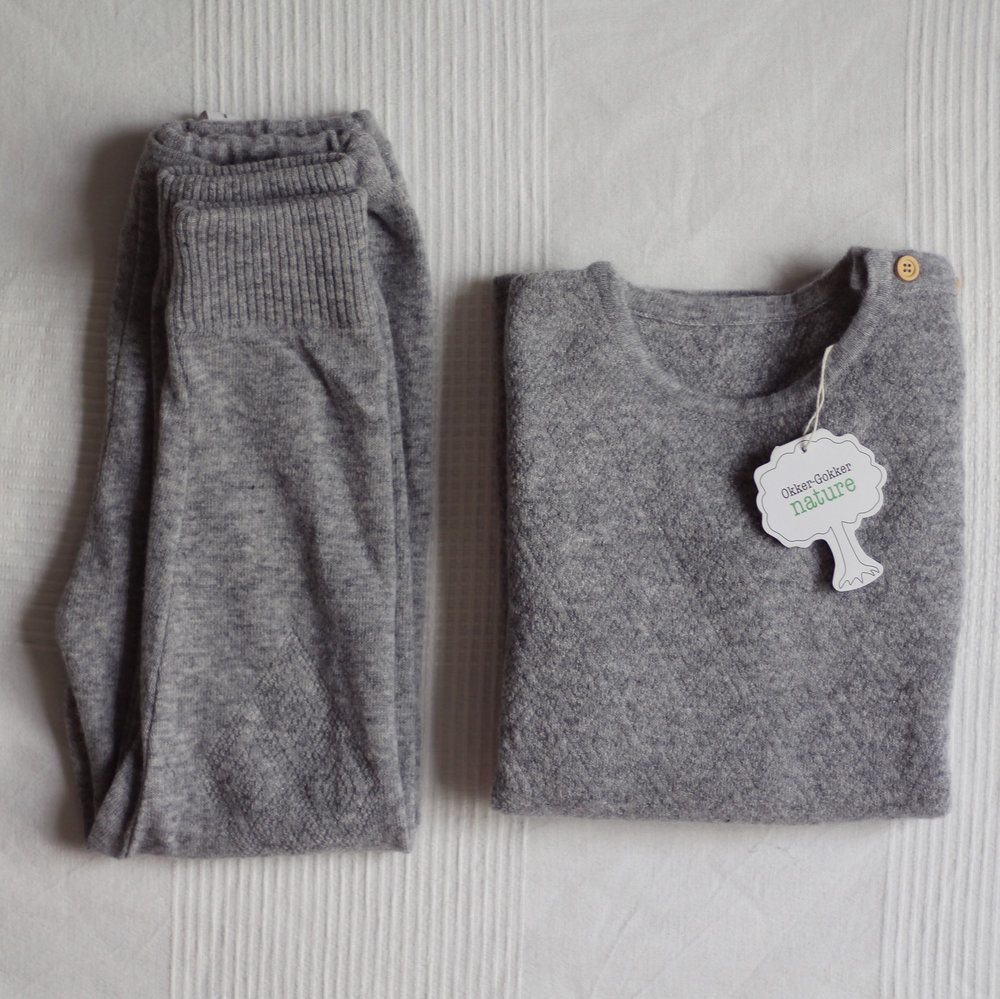 Leggings och tröja i 100% ekologisk ull 018abbc2da4de