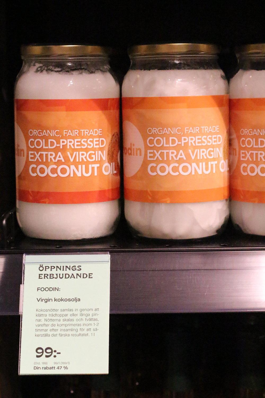 Superbra öppningserbjudande - 1 kg ekologisk kokosolja för endast 99 kr!