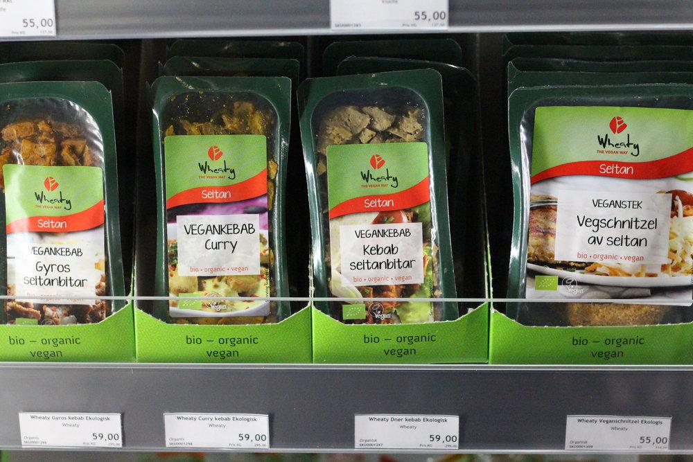 Kyldisk med ekologiska och veganska livsmedel!