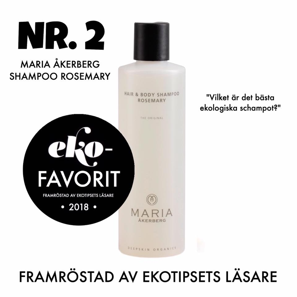 Maria Åkerberg schampo rosemary