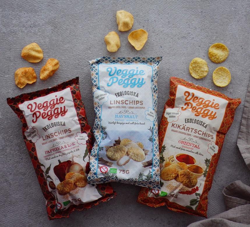 ekologiska chips veggie peggy