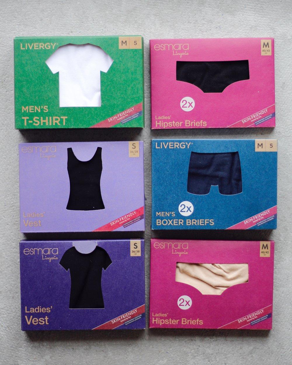 GOTS-märkta underkläder för dam och herr