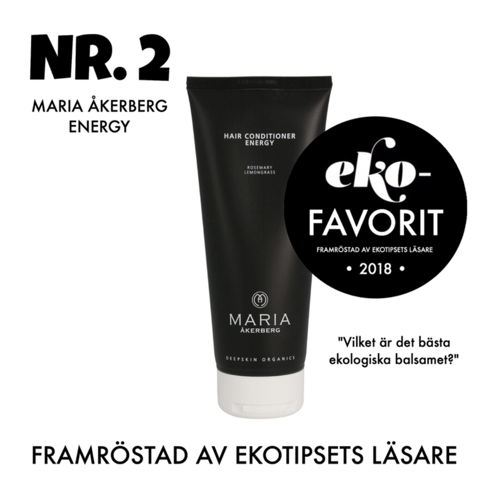 bästa ekologiska balsamet Maria åkerberg Energy