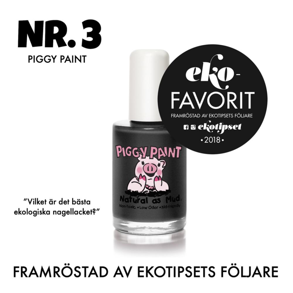 bästa ekologiska nagellacket piggt paint