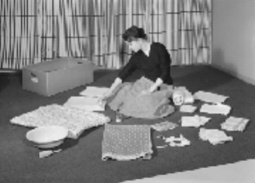 Finnish baby box package 1940's