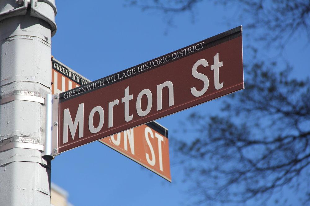 Morton Street & Hudson St