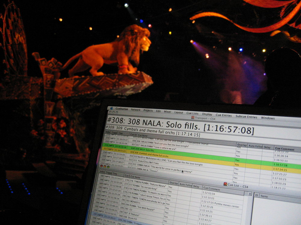 Audio Show Control - Audio System Installation supervision and commissioning as well as Sound System programming for Matrix3 systems in the two major show venues at Disney's Hong Kong gate. The Arena Stage at Theatre in the Wild boasts 4 x 5.1 zones and discreet panning to any of the vomitorium Satellite speakers as well. Spacemap Surround panning and cue programming and control.