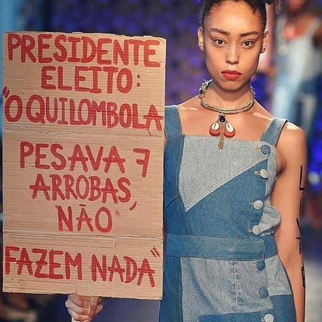 Desfile manisfesto da @thinkblue_upcycled na @befw_brasil_eco_fashion_week  #modaautoral #modasustentavel #modaetica #BEFW #fashionfuturesbrasil