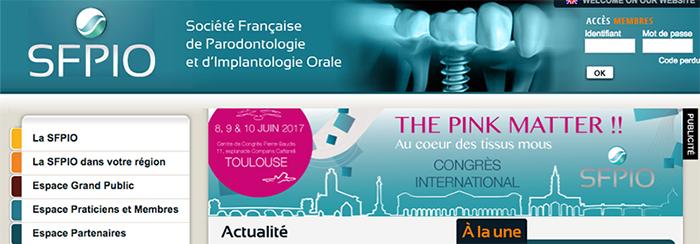 Société Française de Parodontologie et d'Implantologie orale - https://sfparo.org/