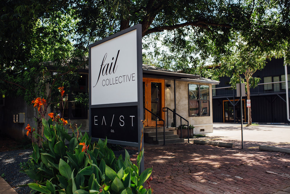 VISIT US IN ATX - We love meeting our customers. Our flagship Brick + Mortar location is nestled in Austin's burgeoning East Side. Stop in and say hello!(512) 666-5446 • 2612 E CESAR CHAVEZ SUITE 100 AUSTIN, TX 78702