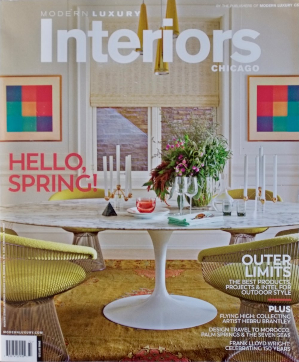 Modern Luxury Interiors - Spring 2017