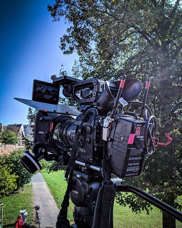 C300 MII, sigma cine primes, wireless transmitter on the back and of course my Miller tripod holding it all together... It's a beast of a setup but still workable hand held, if you don't mind getting some physio after! . . . #adventure #explore #travel #filmmakersworld #documentary #doc #directorofphotography #canonuk #canon #smallhd#gear #wirelesstransmission #miller #doc #dop #bbc1 #bbcstudios #pbs #bbcstudiosglasgow