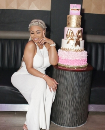 Blac Chyna and Cake