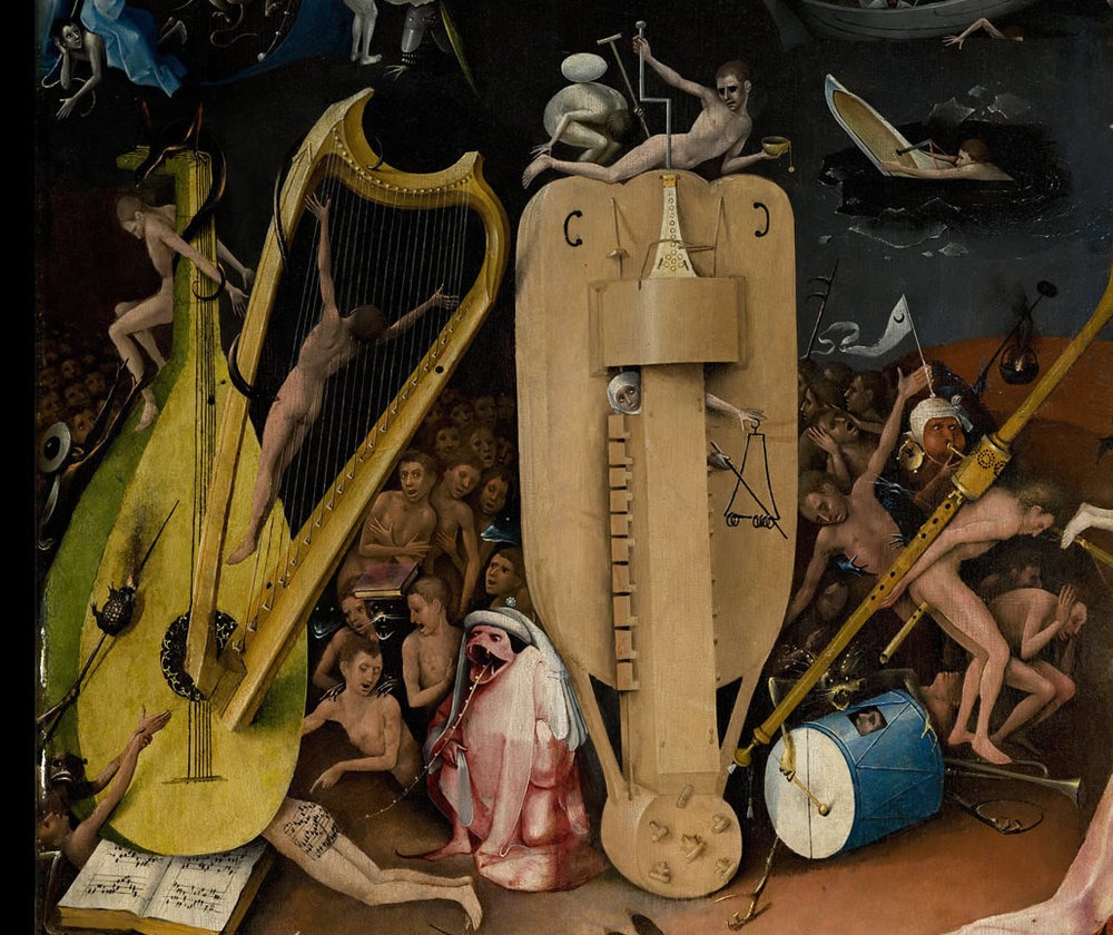 Bosch's Garden of Earthly Delights  - Read more about the artist here...