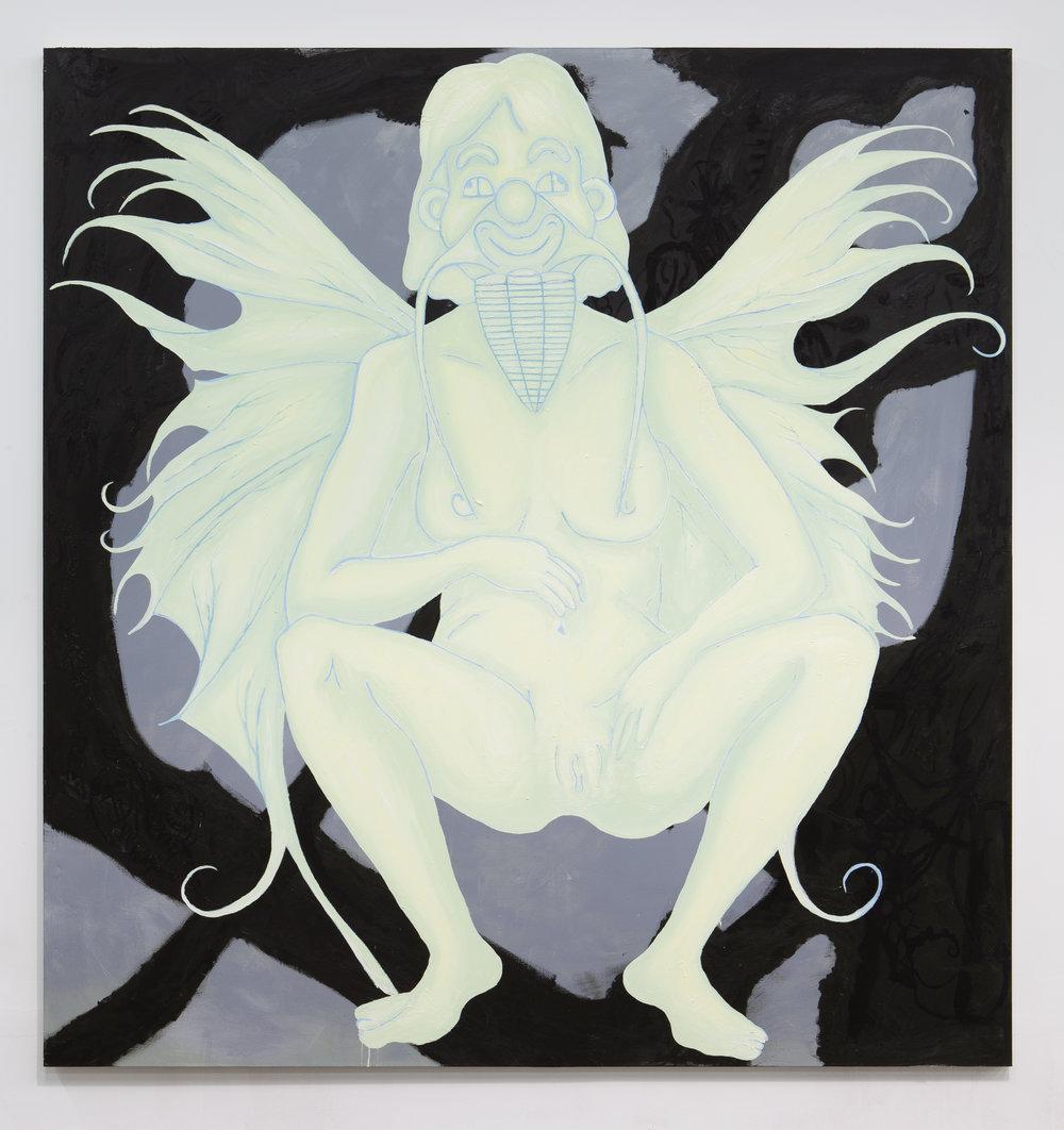 Bradford Kessler   Faith I , 2018 Oil on canvas 90 x 85 inches 228.6 x 215.9 cm