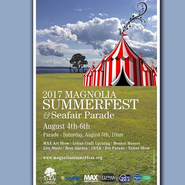 Our annual Magnolia Summerfest is just around the corner! For more information: https://www.magnoliasummerfest.org