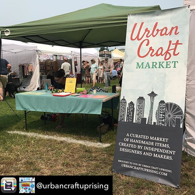 Repost from @urbancraftuprising - If u have any questions about what we do @magnoliasummerfest come find us at our booth!  #urbancraftuprising #seattle #eventsseattle