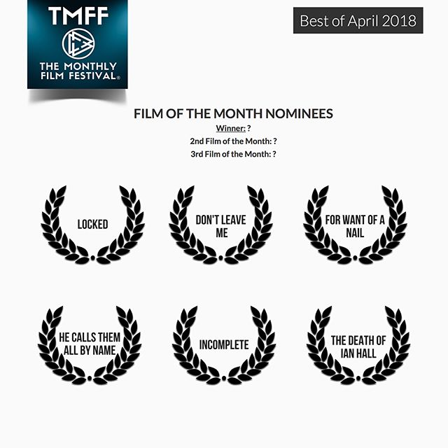 Exciting news!!@themonthlyfilmfestival has nominated our film 5x's for the month of April! Winners will be announced tomorrow evening! * * Film of the Month Nominee * * Director of the Month Nominee @chad_sogas * *. Screenwriter of the Month Nominee @chad_sogas ** Editor of the Month Nominee @missturinski * * Cinematographer of the Month @gregpschmitt * * #hecallsthem #hecallsthemallbyname #southerngothic #indiefilm #indepedentfilm #oregonfilm #koernercamera #gearheadgrip #jointeditorial #filmmaking #themonthlyfilmfestival