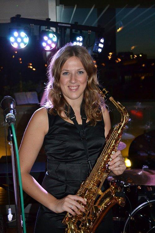 Miranda, sax, flute & vocals
