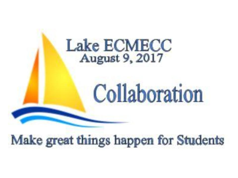 Join us for the 4th Annual Lake ECMECC Conference at Cambridge-Isanti High School on August 9. Register at:   http://lake.ecmecc.org/home/registration-1