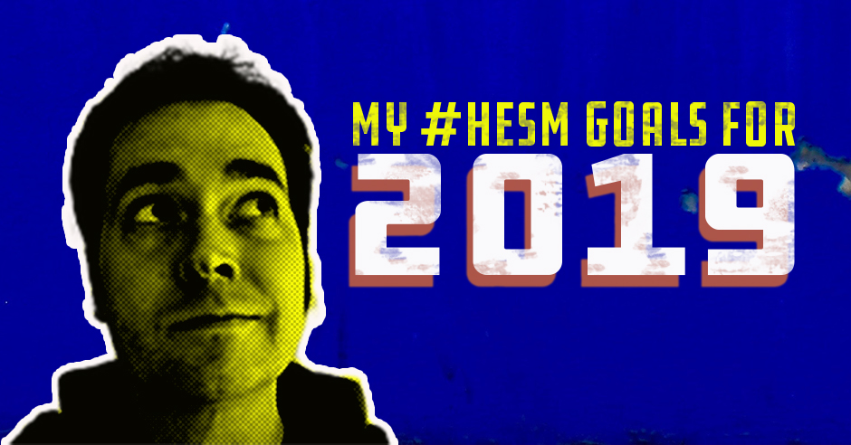 My Higher Education Social Media Goals for 2019