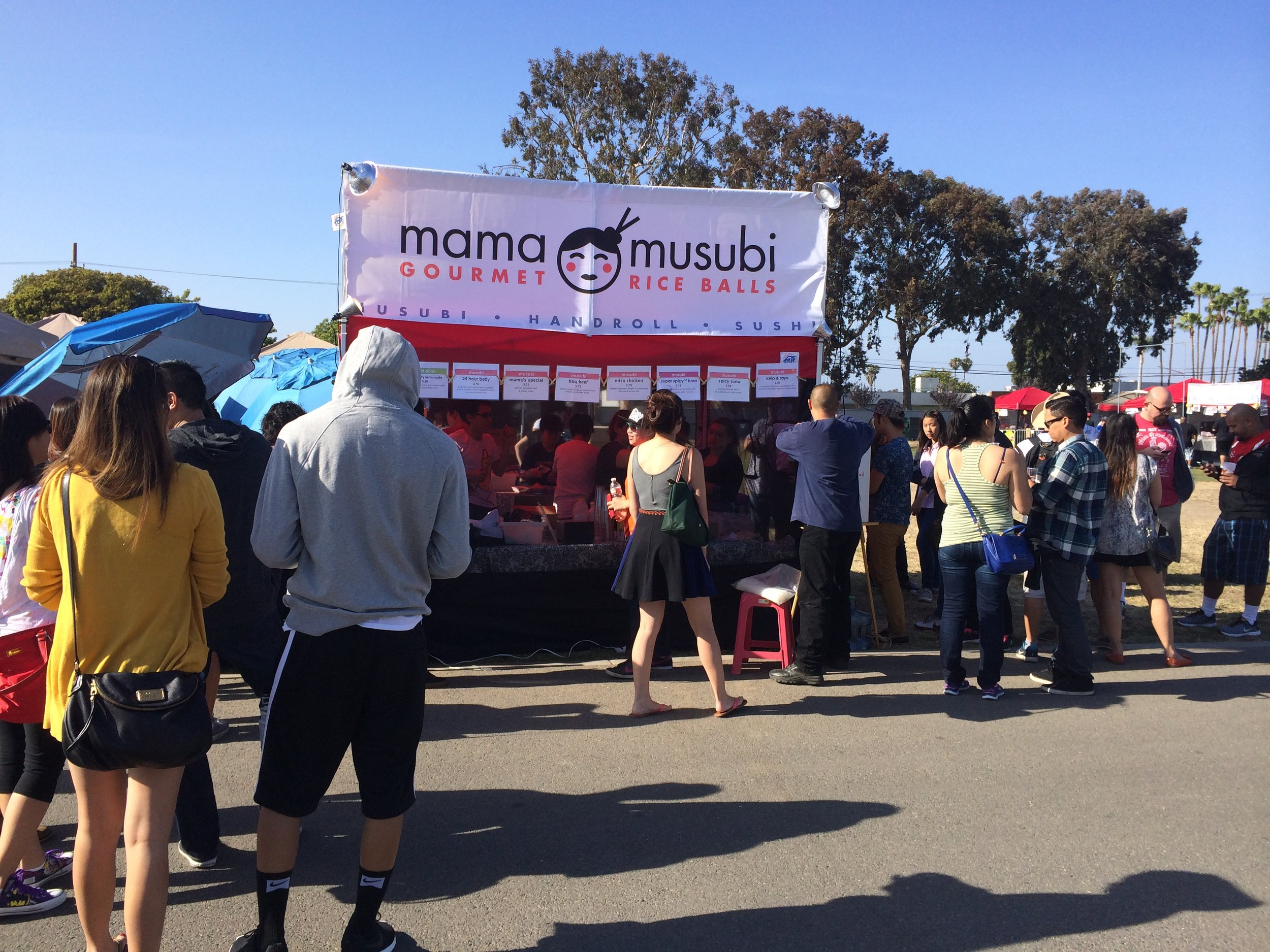 Next stop was Mama Musubi.