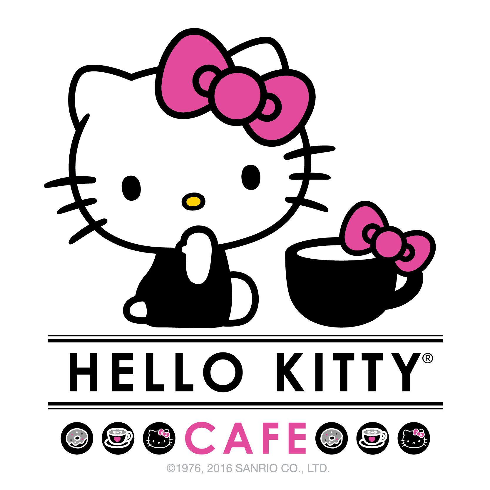 Hello Kitty Cafe Logo  2016