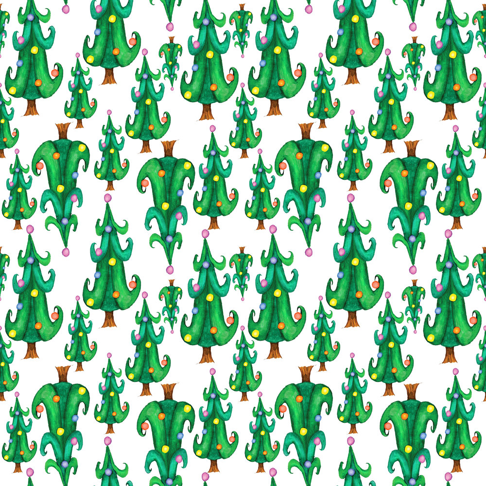 Elizatodd_Whimisical Christmas tree pattern