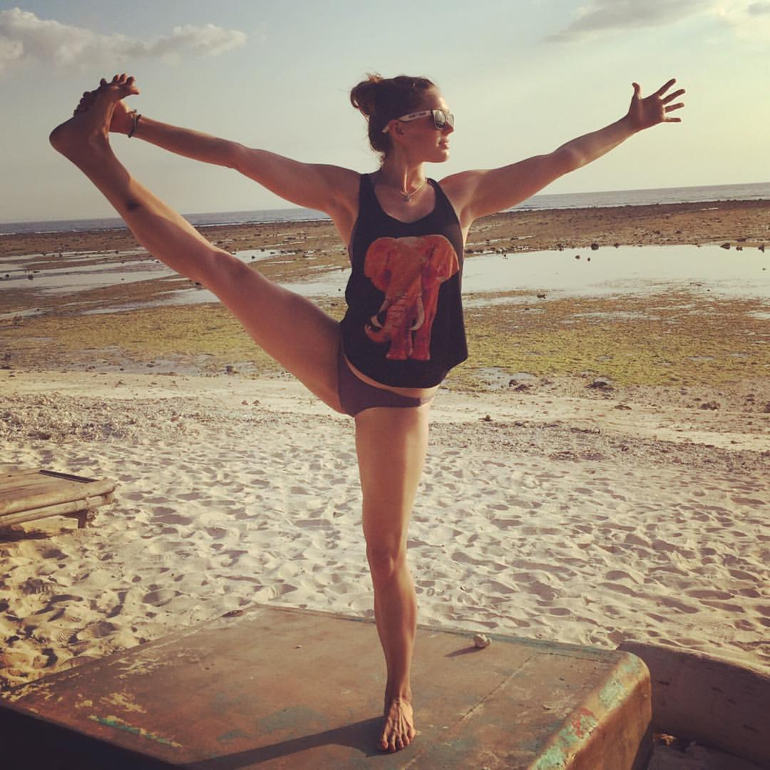 bali yoga pose