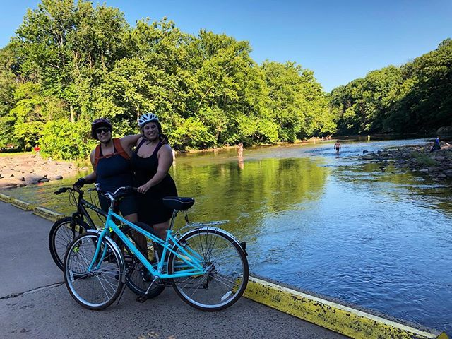 🌻Happy Sunday! We're going to check out more biking spots in the Philly area. Let us know if you have suggestions! . . . . . #getoutside #philadelphia #philly #biking #bike #lgbt #outdoors #outside #nature #travelblogger #travelgram #travel #adventure #sundayfunday #exercise #park #blog