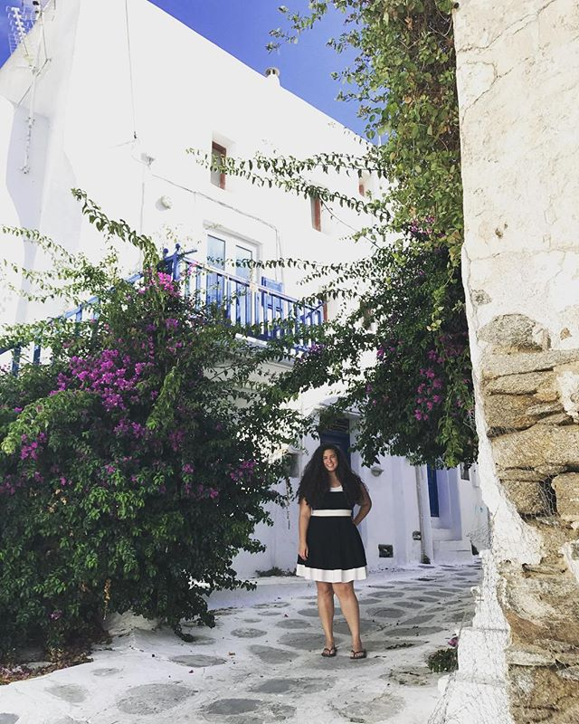🏛We distinctly remember communities that align perfectly with our souls. Sometimes it's the people, sometimes it's the architecture, sometimes it's the way a town is designed. We felt that feeling together here on top of a hill in a little town in Mykonos. . . . . . . . #mykonos #greece #explore #travelgram #fbf #lesbians #pride🌈 #lgbt #travel #travelblogger #outdoors #neighborhood #travels #travelphotography #bucketlist #travelcommunity #travelcouple #digitalnomad