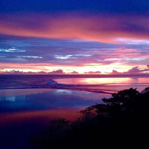 After another day in paradise, you'll be treated to a spectacular sunset at #myolafiji 🌺 #fiji #travel #wanderlust #luxury