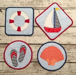 SUPER AWESOME CHEERY BEACH COASTERS!