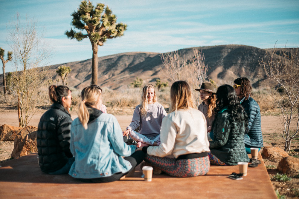 MARCH RETREAT - JOSHUA TREE, CA