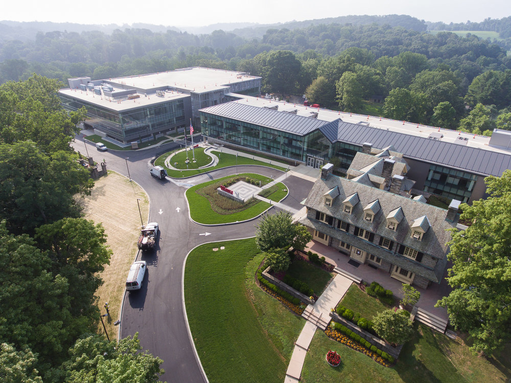 Wawa Annex 5 - New office addition and parking garage at the Corporate Campus of Wawa, in Chester Heights, PA. Working for a global leader in construction, SNC Lavalin, we provided mass excavation and grading for the new office and garage. Utility work included onsite sanitary sewer, storm management, and domestic and fire water service lines. Project began in July 2015 with completion coming in early 2018.