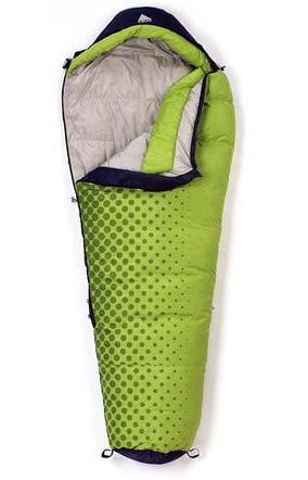 Above: Kelty Cosmic 20 Degree, $115, <3 lbs