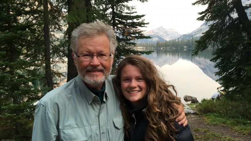 Above:me and Ciera at Edna Lake.