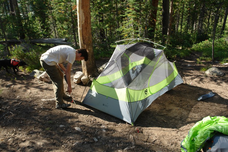 Most  two man  tents are really very roomy one man tents. The Dagger 2 actually works for 2 adults. Iu0027m 5u00279  and Jim is about the same and we had room to ... & Nemo Dagger 2 Freestanding Tent u2014 Backpacking Technology