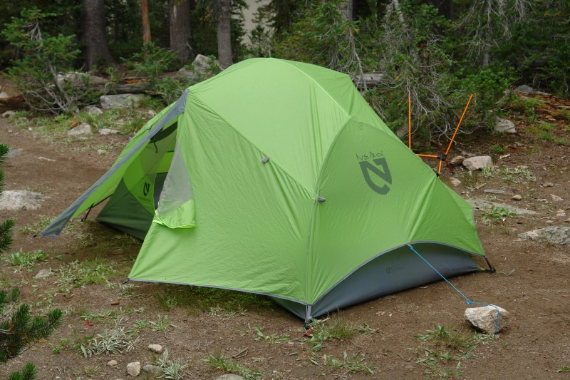 As you can see the fly comes down pretty low on the tent and we had the chance to test it in bad weather. We got a fierce hail storm ... & Nemo Dagger 2 Freestanding Tent u2014 Backpacking Technology