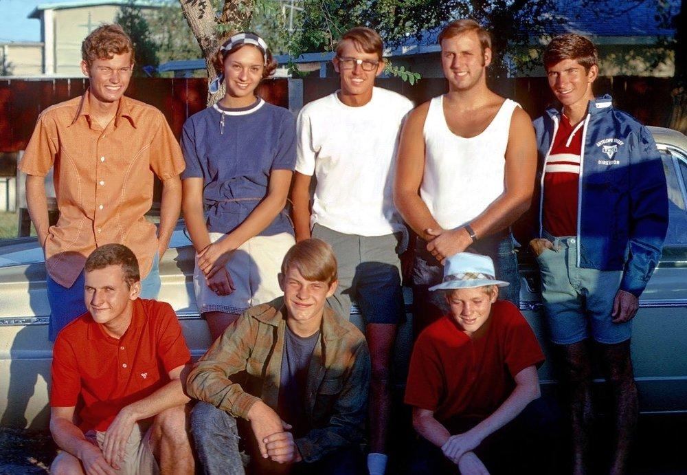 aug day 1 Sawmill Group Photo 1970.JPG