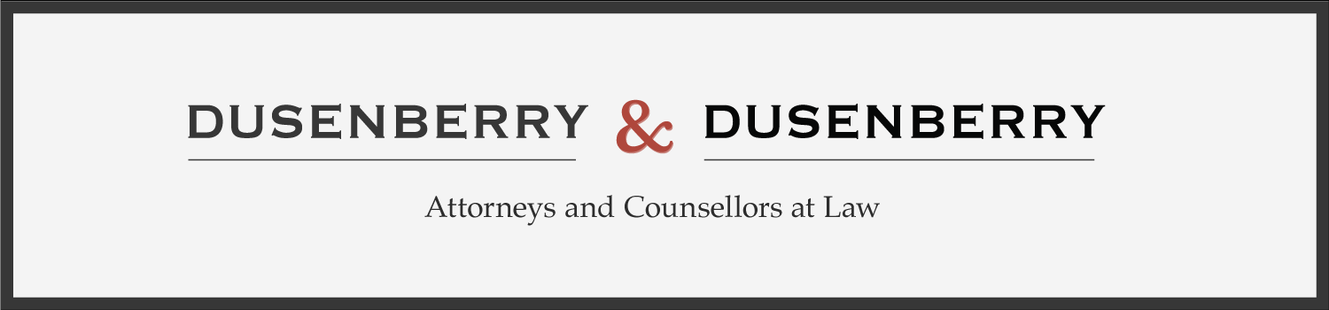 Dusenberry and Dusenberry