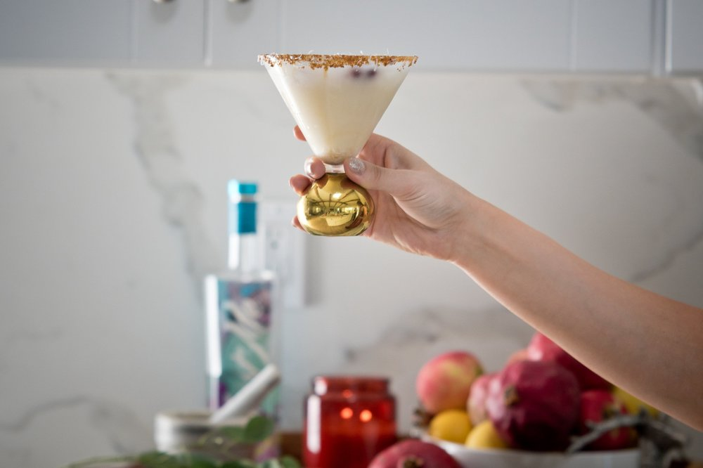 Coconut Winterland Craft Cocktail -