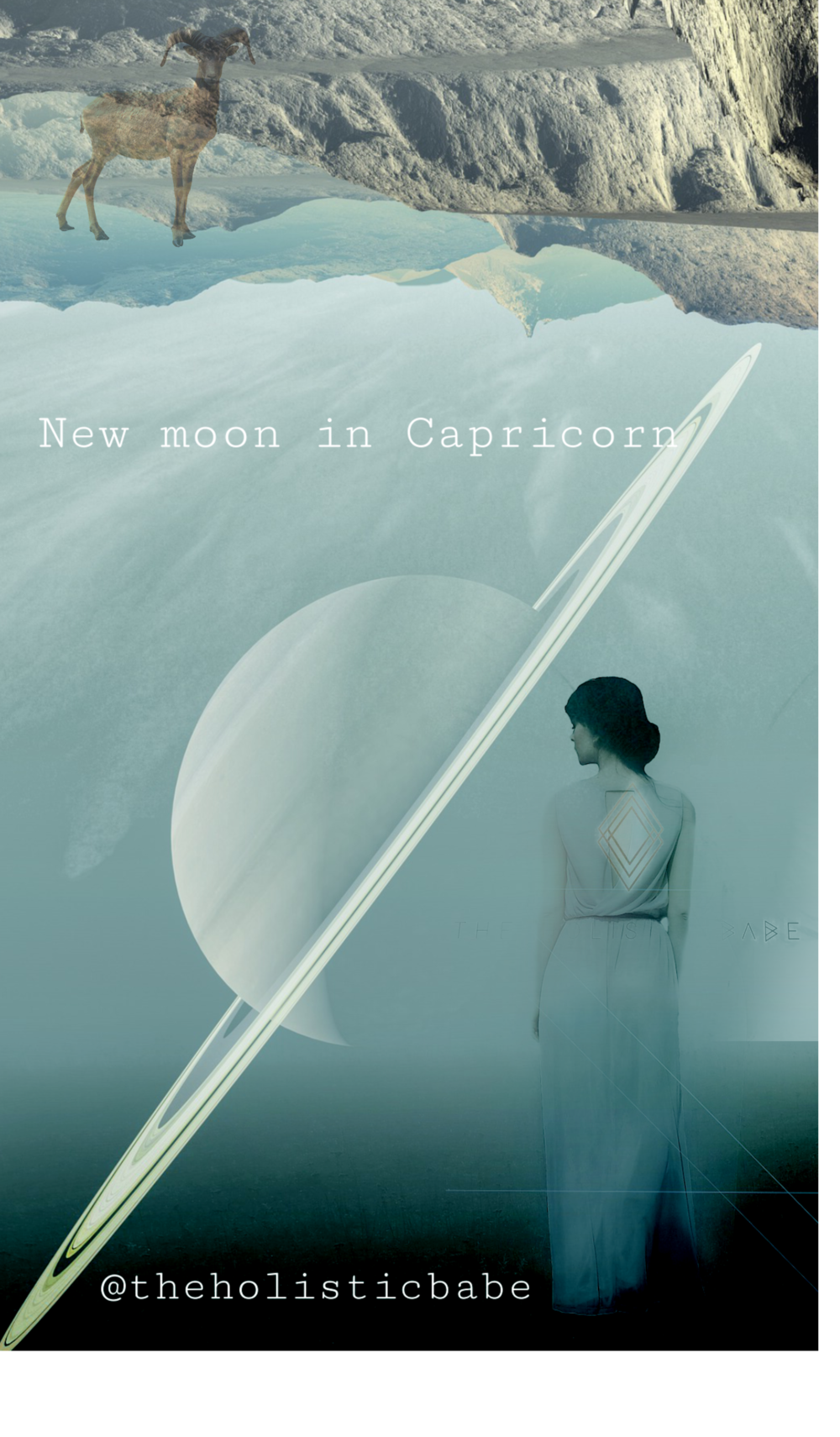 New moon  matcha ritual<3 Capricorn focuses on discipline, responsibility and mega concentration.