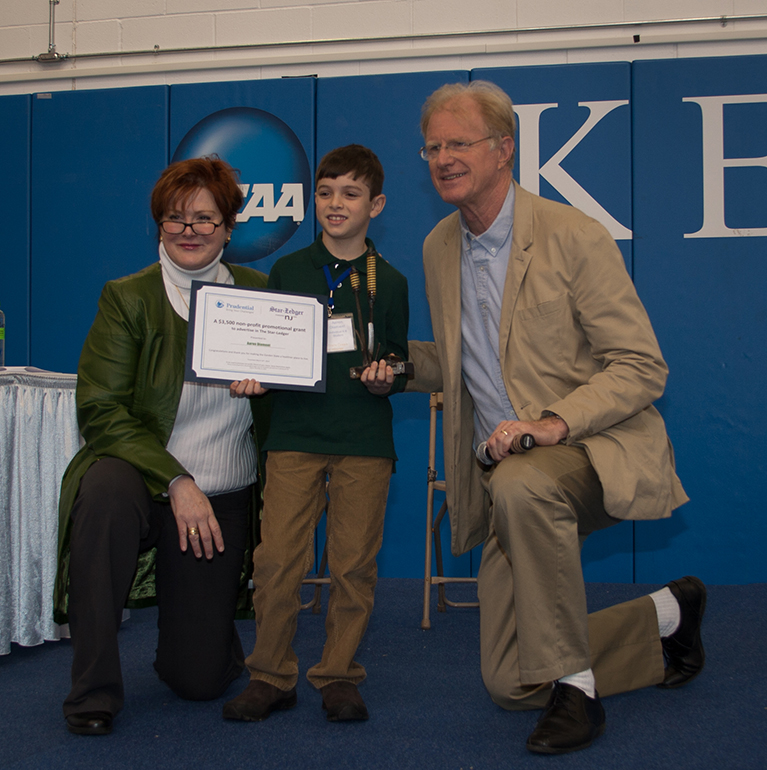 Aaron Receiving Garden State Green Award